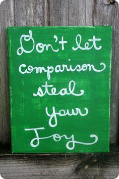 Don't Let Comparison Steal Your Joy-2